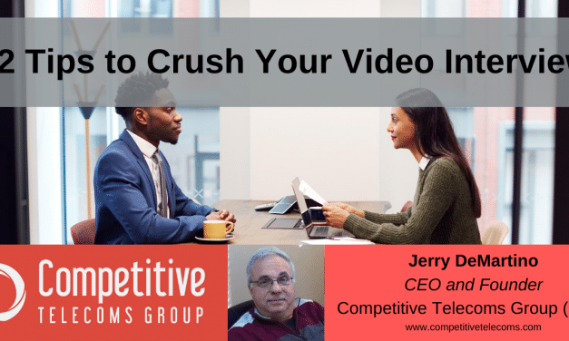 12 Tips to Crush Your Video Interview