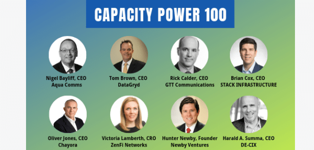 Innovators, Disruptors and Celebrating Capacity's Power 100