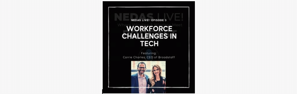 The NEDAS Live! Podcast Explores the Interplay of Digital Transformation and Workforce Development