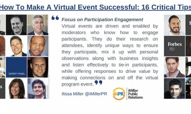 How To Make A Virtual Event Successful: 16 Critical Tips