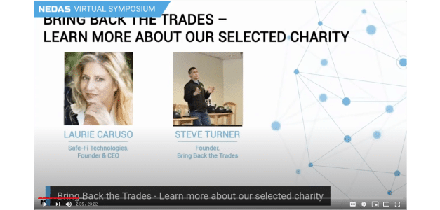 The NEDAS Virtual Symposium Charity: Bring Back the Trades