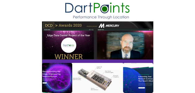DartPoints Wins DCD>Awards Edge Data Center Project of the Year