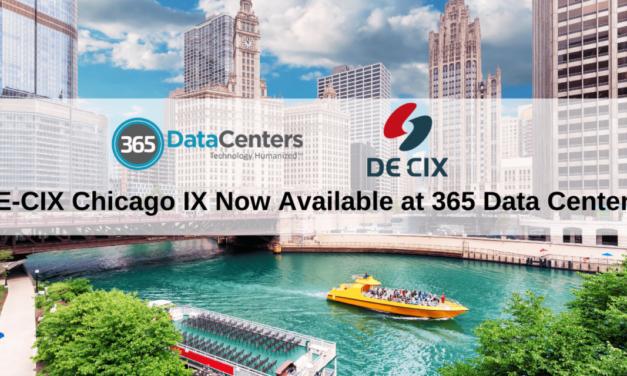 DE-CIX Chicago IX Lights Up 365 Data Centers