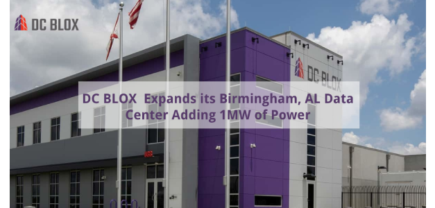 Customer Demand Drives DC BLOX Expansion in Birmingham