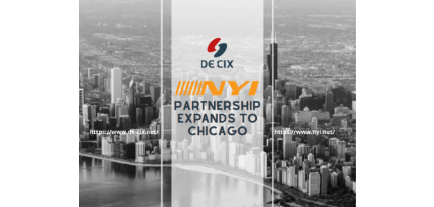 Latest Partnership Expansion: DE-CIX and NYI Take Chicago