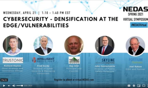 Cybersecurity: NEDAS 2021 Spring Virtual Symposium