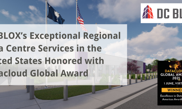 DC BLOX's Exceptional Regional Data Centre Services in the United States Honored with Datacloud Global Award