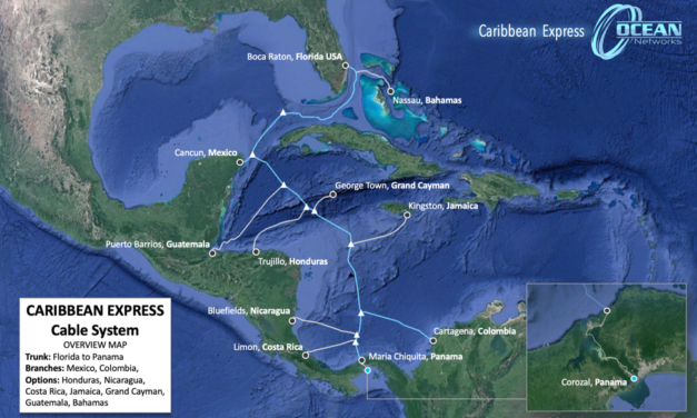 Plans for the Caribbean Express (CX) Submarine Cable System